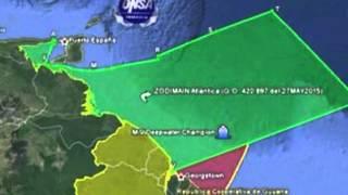Venezuela Claims Guyana Waters   CEEN News   June 8, 2015