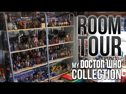 My Doctor Who Collection/Room Tour (2017)