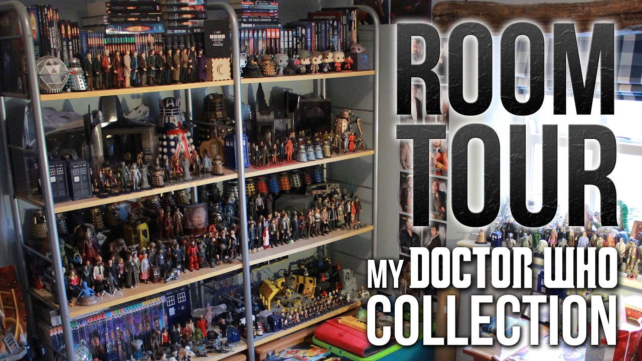 674ae6cb199 My Doctor Who Collection Room Tour (2017) - YouTube