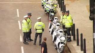 Met Police motorcyclists