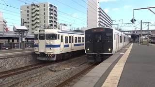 JR九州 南福岡駅を発着・通過する電車たち