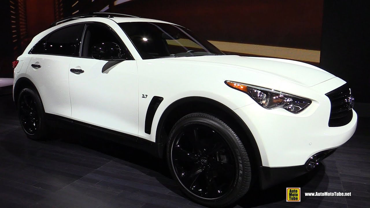 2015 infiniti qx70 s exterior and interior walkaround 2015 new york auto show