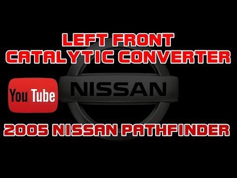 2005 nissan pathfinder - 4 0 - left catalytic converter - driver side
