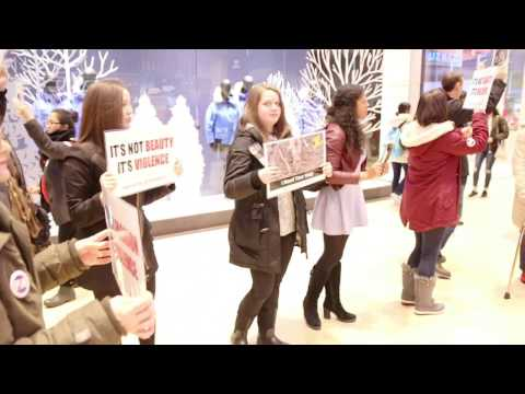 DxE Canada Goose Disruption - Yorkdale Mall