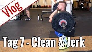 Tag 7 - Oly-Training (Clean & Jerk) | Vlog 10-Wochen-Diät