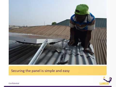 Lumos Global Smart Solar System Installation