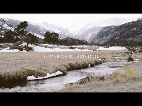 Laura Hackett Park - Love Makes Us Strong (Lyric Video) | Forerunner Music