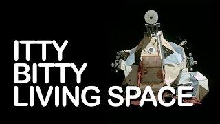 Peeking Inside a Messy Lunar Module