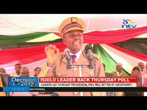 Download Youtube: Isiolo leaders say there will be elections in the county