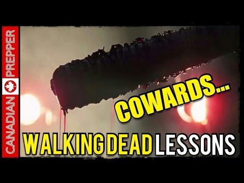 Dangerous Cowards: Walking Dead Lessons #2