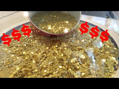 $24,999 in 1 Dollar Coins