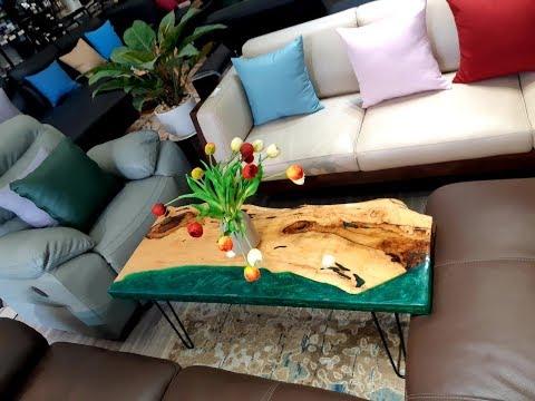 Bàn Trà, Café Gỗ 3d Epoxy Resin Ở Quận Tân Bình - 0789 000 533