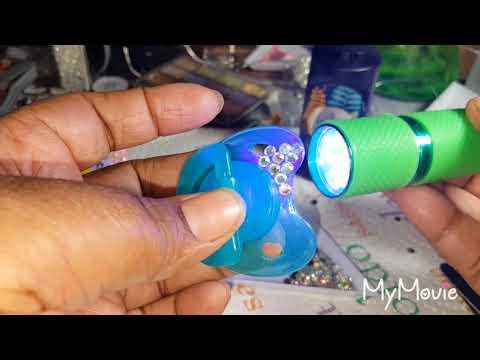 Diy uv resin pacifier
