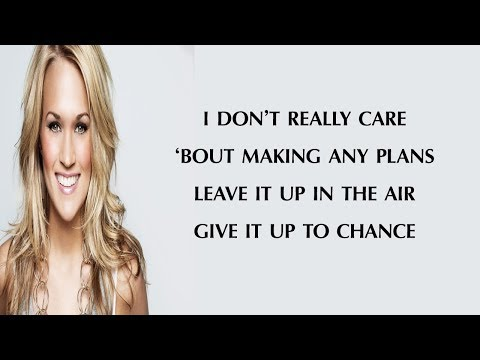 Carrie Underwood   End Up With You (Lyrics)🎵