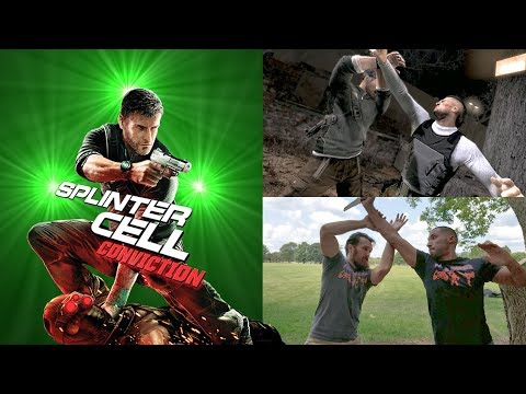 Splinter Cell Conviction | Sam Fisher Fighting Style