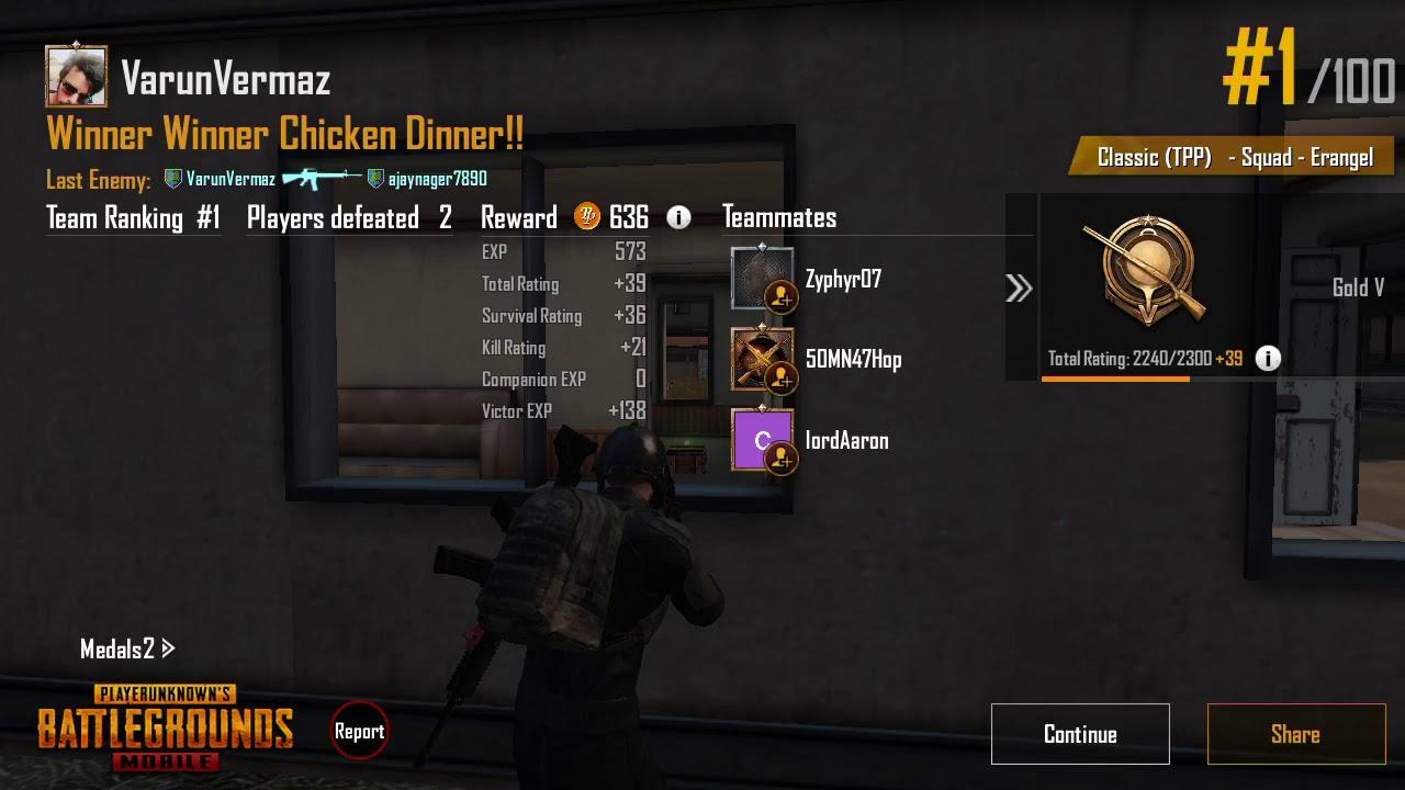 Winner Winner Chkn Dinner