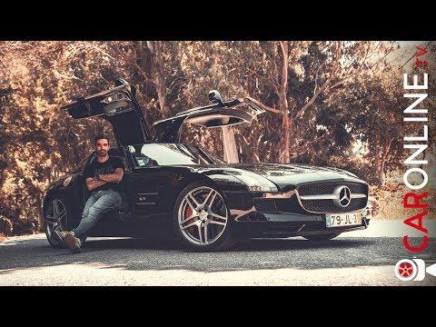 Mercedes SLS AMG é MUITO MAIS que um V8 BRUTAL! [Review Portugal]