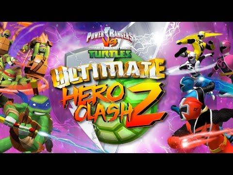 TMNT Vs Power Rangers Ultimate Hero Clash 2 (Черепашки ниндзя против рейнджеров 2)