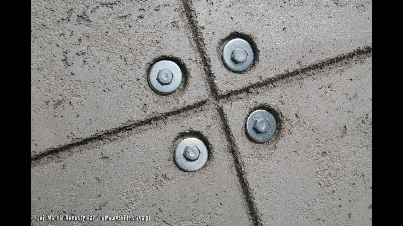 Efekt Plyt Betonowych Beton Architektoniczny Tani Sposob Na Betonowa Sciane Diy Cement Wall Youtube