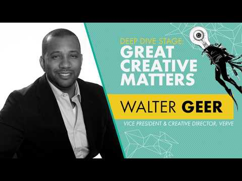 Walter Geer, Vice President & Creative Director, Verve - Deep Dive Stage | OMR18