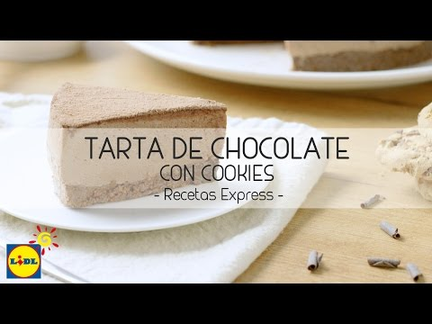 Tarta de Chocolate con Cookies - Recetas Express