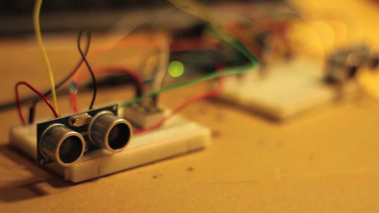 Ultrasonic Sensor People Counter with Arduino  YouTube