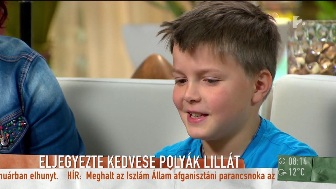 4f279171e4 Polyák Lilla fiai is közreműködtek az eljegyzés megszervezésében -  tv2.hu/mokka