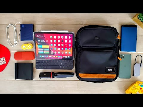 My IPad Pro 11 Carry: Early 2020... What's In My Bag???