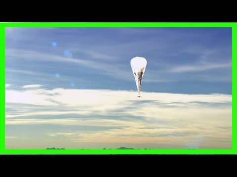Breaking News   Alphabet's project loon may deliver internet to puerto rico with wi-fi balloons