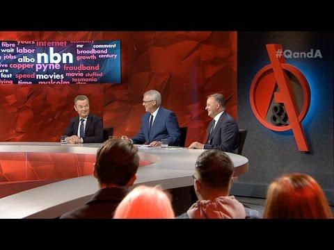 Q&A Debate: Pyne vs Albanese