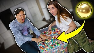 1 GOLD BALL IN 5000 BOUNCY BALLS !?