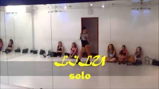 Strip dance from Lilu. Raisky dance studio. Music: Monatik-Prosti