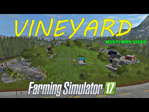Farming Simulator 17 VINEYARD