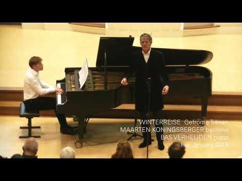 Maarten Koningsberger WINTERREISE live 2018, Bas Verheijden piano