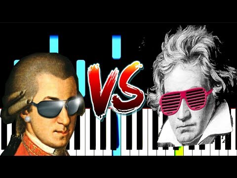 Mozart Vs Beethoven (synthesia)