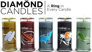 A Ring in Every Candle - Diamond Candles Review