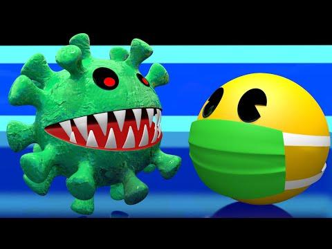 Pacman Vs Corona-Pac