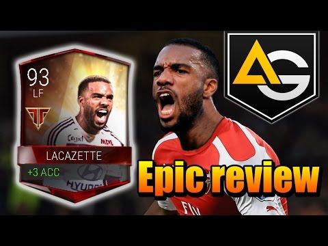 Epic Review Lacazette 93 FIFA MOBILE