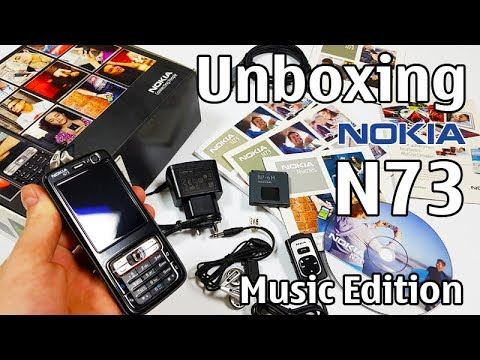 Nokia N73 Music Edition Unboxing 4K With All Original Accessories Nseries RM-133 Review