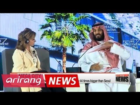 Saudi Arabia announces investments to build $500-billion mega city