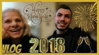 NEW YEARS EVE 2018 VLOG🥂 (The Real New Year) l Tsede The Real