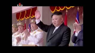 No comment: Военный парад в Северной Корее
