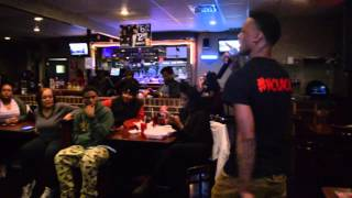 PR Reckless - Coolin in the trap (Live Performance) @ Queens Way Soul Cafe