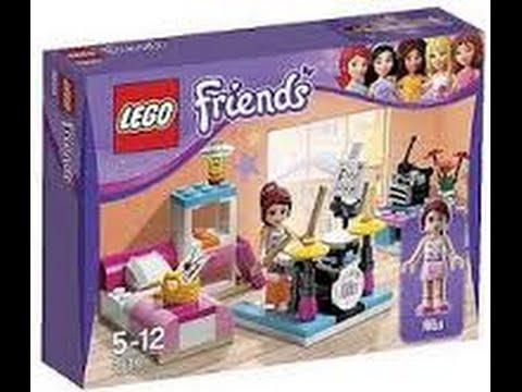 Review lego friends quarto da mia youtube - Lego friends casa de livi ...