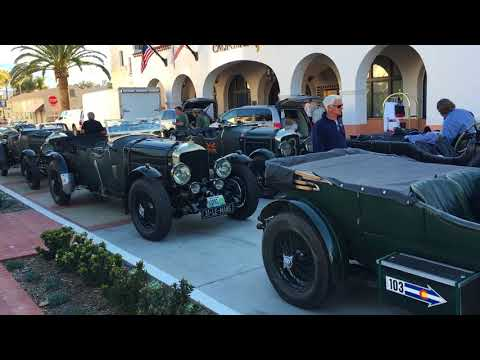 Bentley Tour: Santa Barbara, CA '18