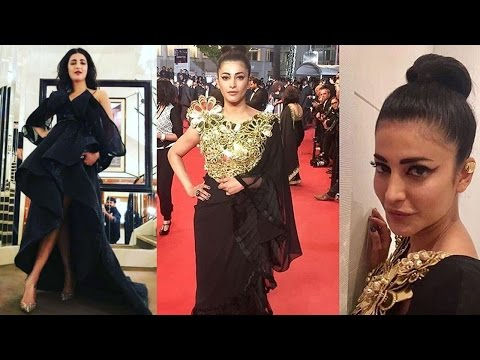 Shruti Hassan's FASHION FAIL At Cannes 2017 Red Carpet