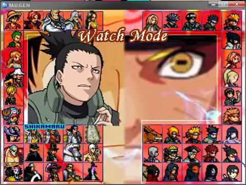 2012 DOWNLOAD NARUTO EDITION HIRES MUGEN SHIPPUDEN TÉLÉCHARGER