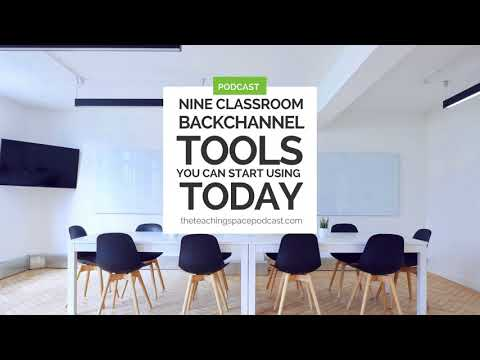 Nine Classroom Backchannel Tools You Can Start Using Today