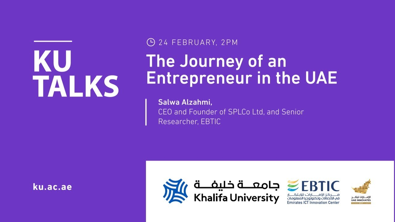 The Journey of an Entrepreneur in the UAE by Salwa Alzahmi,