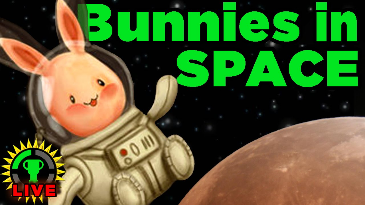 GT Live: Will We Save the SPACE BUNNIES?! - GT Live: Will We Save the SPACE BUNNIES?!